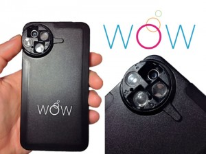 WoW iPhone Lens Case Offers Wide Angle, Macro, eZoom App And More