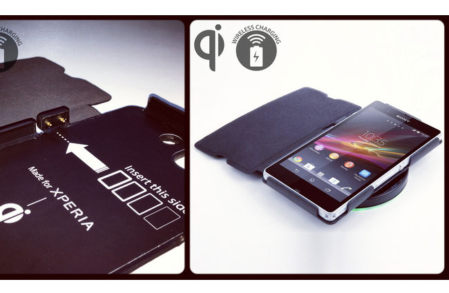 wholesale dealer 2f11e 64bee Xperia Z Qi Wireless Charging Case Unveiled