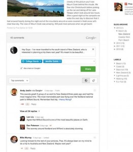 Google+ Comments Can Now Be Added To Blogger