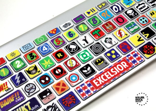 comic-book-keyboard