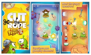 Cut the Rope: Time Travel hits iPhone, iPad