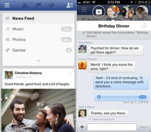 Facebook For iPhone, iPad And iPod Touch Updated