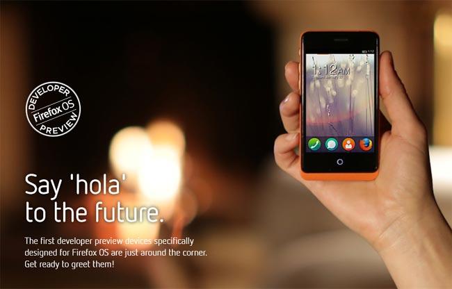 Firefox OS Dev Phones