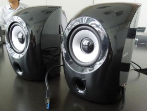 Gigabyte GP-S3000 Are the World's First USB 3.0 Speakers