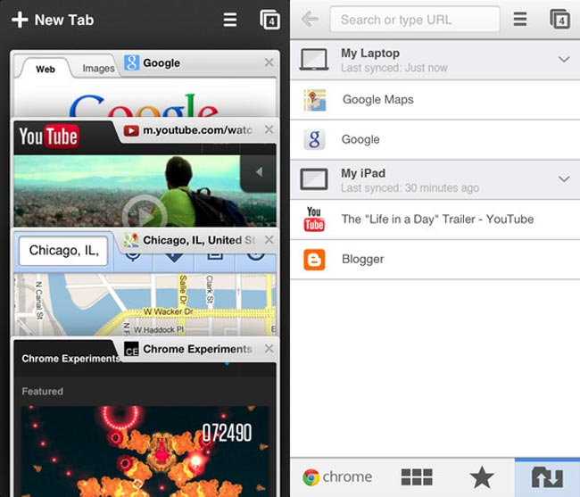 Google Chrome For iOS Updated