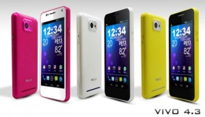 Blu Vivo 4.3 Smartphone Gets Android 4.1 Update