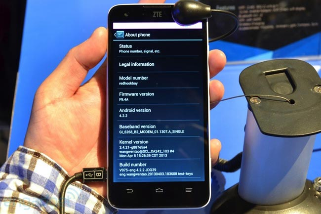 ZTE Geek Intel Android Smartphone Announced