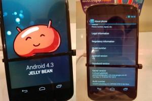 Android 4.3 Running On The Nexus 4 (Video)