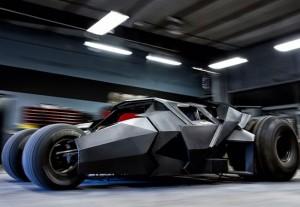Custom Batman Tumbler Entering The Gumball 3000 Rally (video)