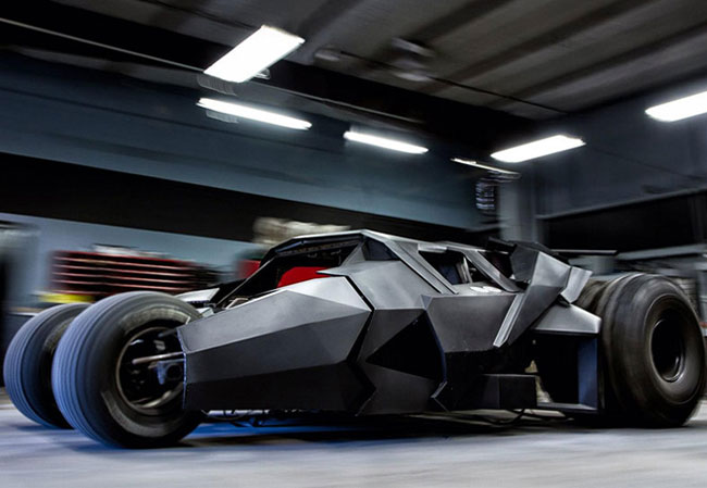 Custom Batman Tumbler