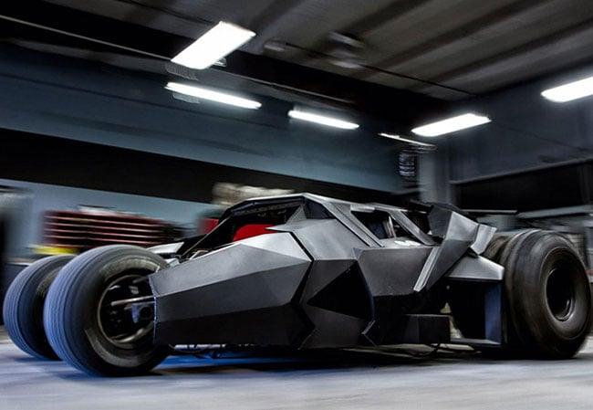 Custom Batman Tumbler