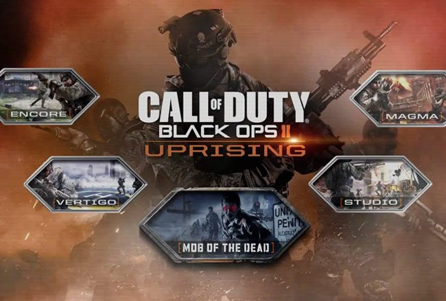 Black Ops 2 Uprising DLC