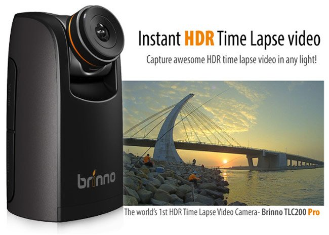 Brinno TLC200 Pro Instant HDR Time Lapse Video Camera (video)