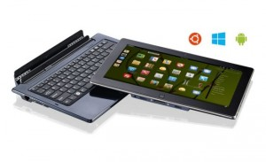 Ekoore Python S3 Hybrid Tablet Boots Android, Windows 8 And Linux