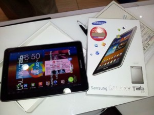 Samsung Galaxy Tab 7.7 Jelly Bean 4.1.2 Update Rolls Out