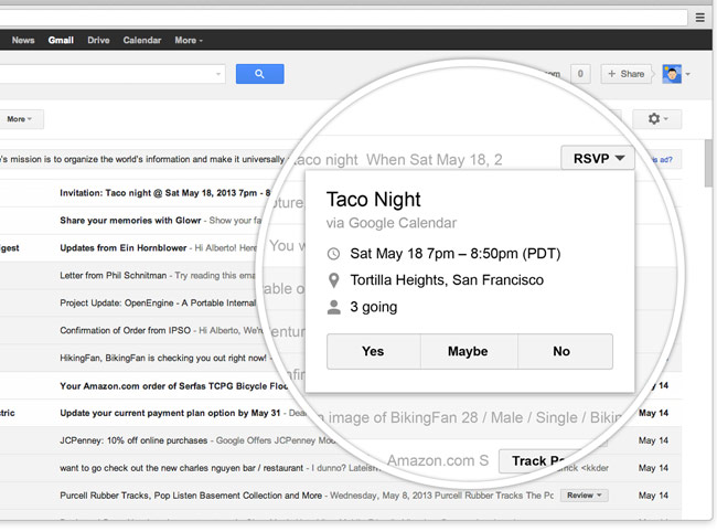 Gmail Action Button
