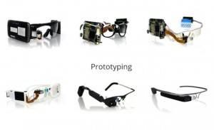 Google Glass Early Prototypes Unveiled