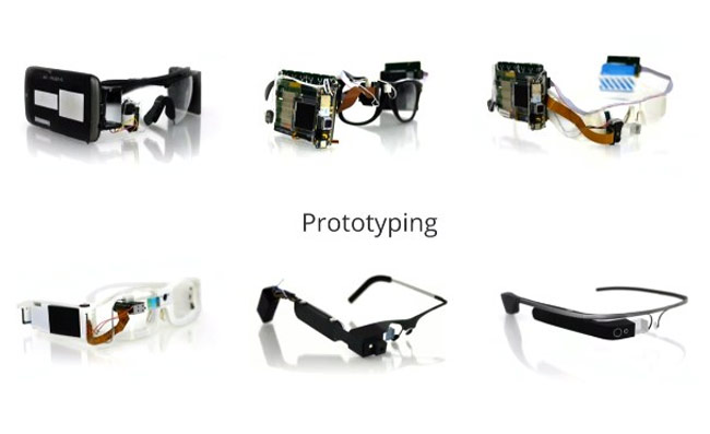 Google Glass Early Prototypes