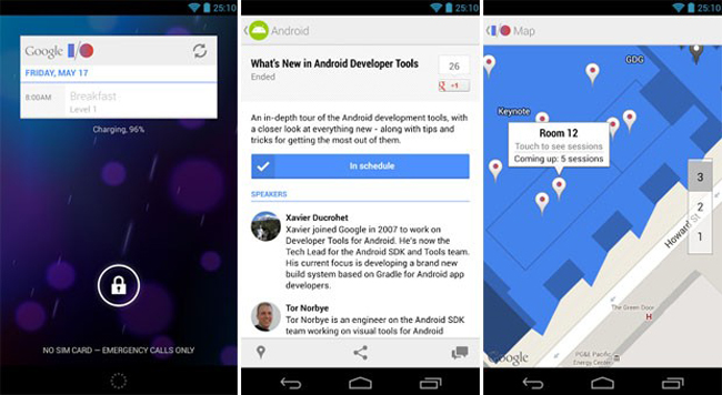 Google I/O 2013 Android App Updated