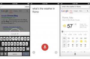 Google Voice Search Arriving On iOS Devices