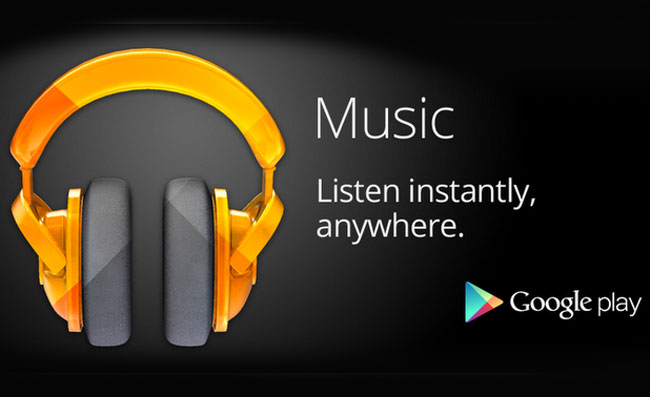 Google Music Supscription Service