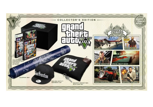 Grand Theft Auto 5 Collector Edition