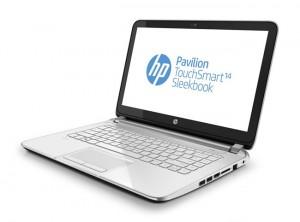 HP Pavilion TouchSmart 14 Sleekbook Unveiled Starting At $480