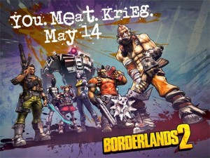 Borderlands 2 Krieg the Psycho Bandit Arrives May 14th (video)