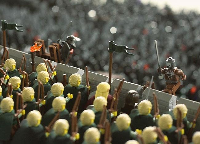 Lego Helms Deep
