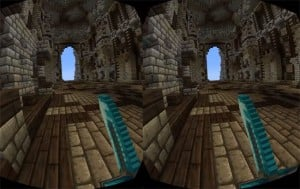 Oculus Rift Minecraft Unofficial Virtual Reality Gameplay Demo Released (video)