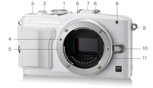 Olympus PEN Lite E-PL6