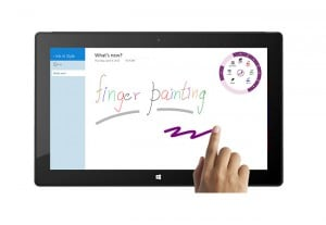 OneNote Windows 8 And RT Update Adds New Finger Painting Features