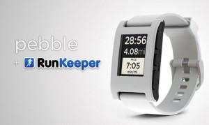 RunKeeper Pebble SmartWatch App Launches