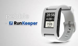 RunKeeper Pebble SmartWatch App Launches