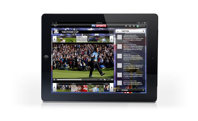 Sky Sports iPad App