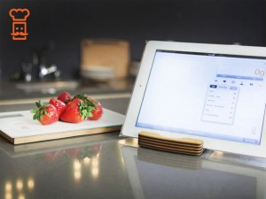 Smart Food Scale Sends Nutrition Info To Your Mobile Device (Video)