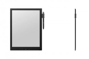 Sony e-Ink Prototype Slate And Stylus Unveiled