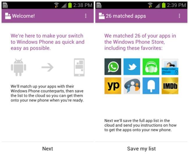 Switch To Windows Phone