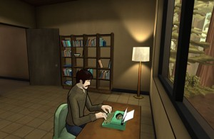 The Novelist Game Allows You To Play As A Mysterious Ghostly Presence (video)