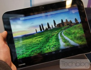 Toshiba AT10LE-A Quad Core Android Tablet Leaked