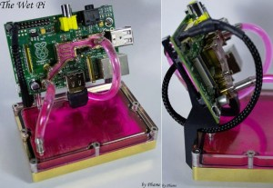 Water Cooled Raspberry Pi Case