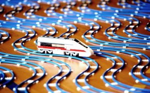 The Worlds Longest Lego Railway
