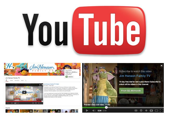 YouTube Paid Subscriptions Pilot Program Launches
