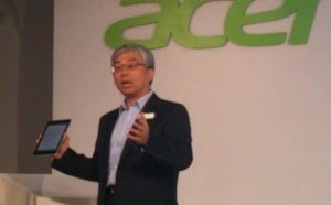 Acer President Says There Is No Current Value in Windows RT