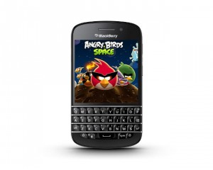 Angry Birds Space Lands On BlackBerry 10