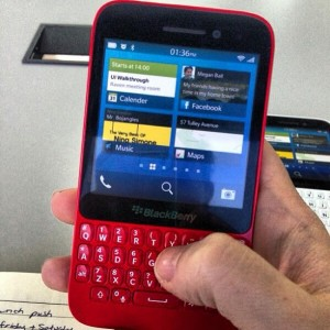 BlackBerry R10 QWERTY Smartphone Leaked