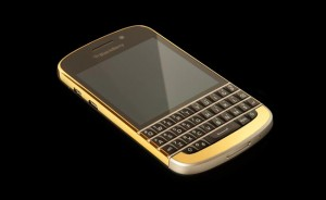 The 24ct Gold BlackBerry Q10
