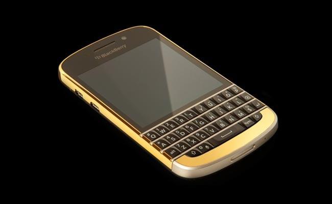 Gold Blackberry Q10