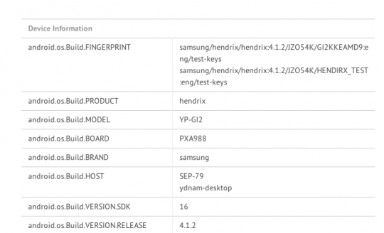 Samsung Galaxy Player 2