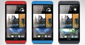 Red And Blue HTC One To Launch This Summer